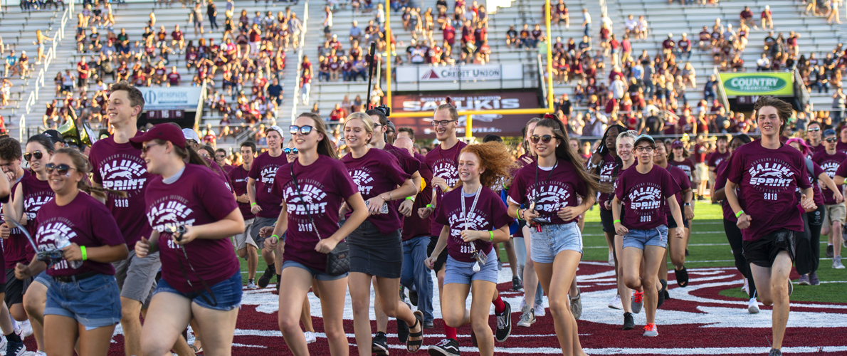 SIU Weeks of Welcome Saluki Sprint